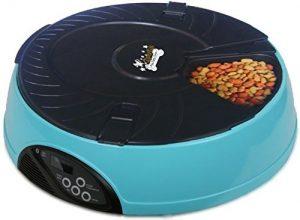 timed cat food dispenser