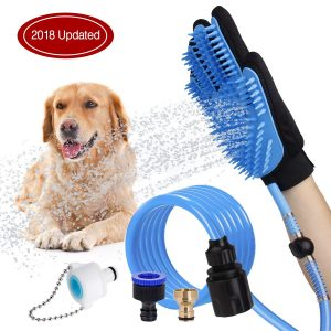 dog brush that collects hair